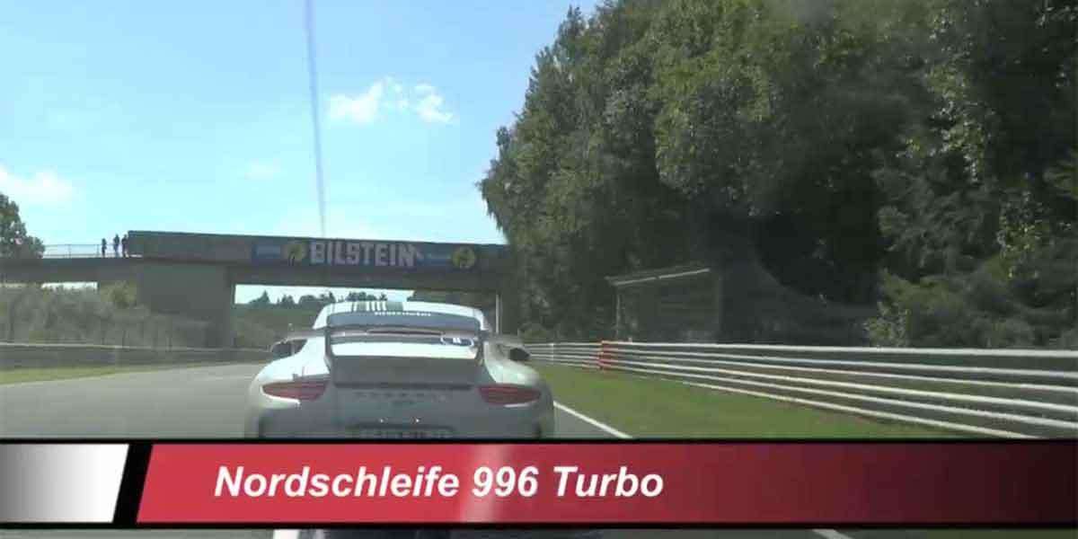 Eine Fahrt in einem Porsche 996 Turbo